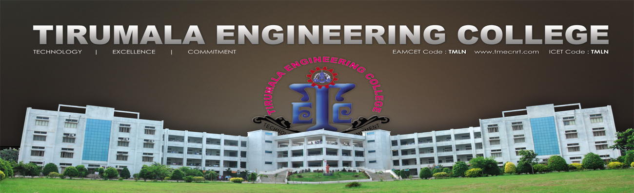 Tirumala Engineering College slide image